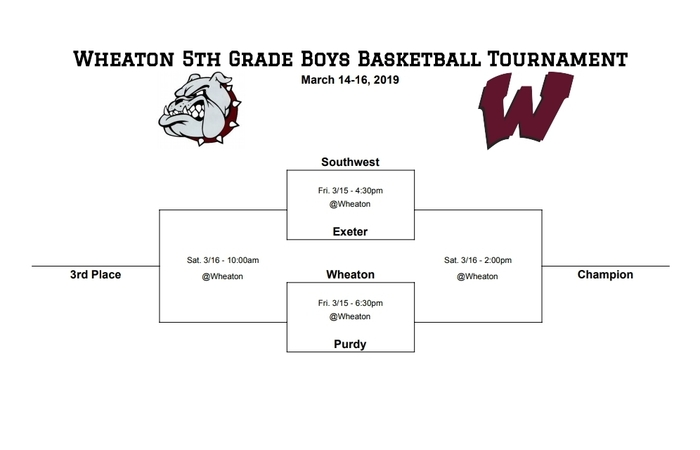 5th grade boys bracket