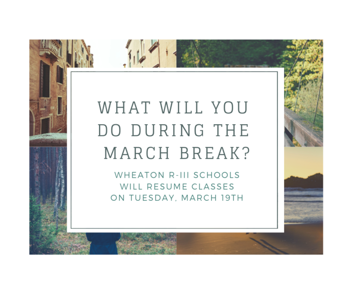 2019 March Break
